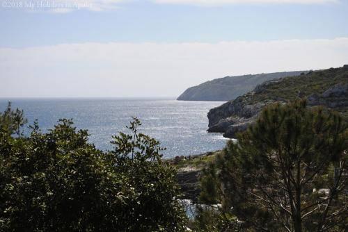 Adriatic coast in Apulia