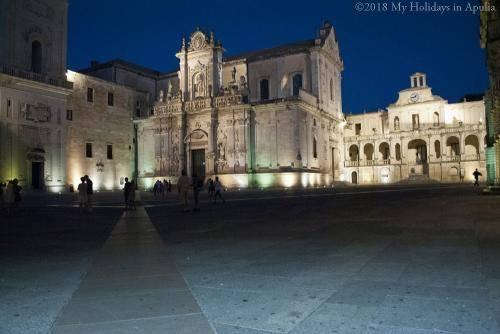 The dome in Lecce