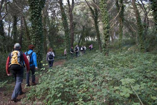 trekking in the natural park